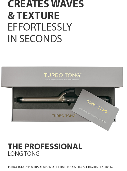 Turbo Tong Hair Curling Iron
